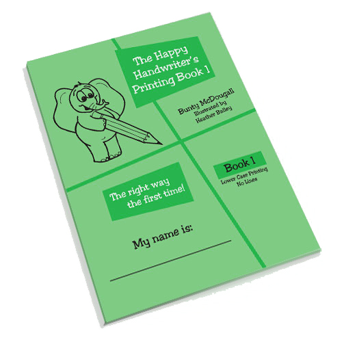 Printing book available at The Happy Handwriter shop