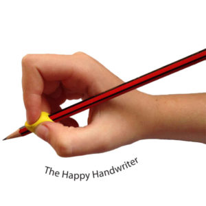 Stetro pencil grip available at The Happy Handwriter shop