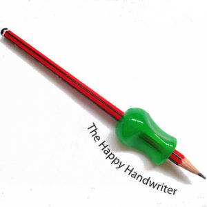 Pencil grip available at The Happy Handwriter shop