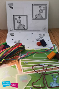 teach your kid to draw shapes, shape builder from the happy handwriter, pre-writing activities