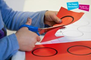 the-happy-handwriter-scissor-skills-development, cutting exercises for preschoolers, cutting shapes worksheets, preschool cutting