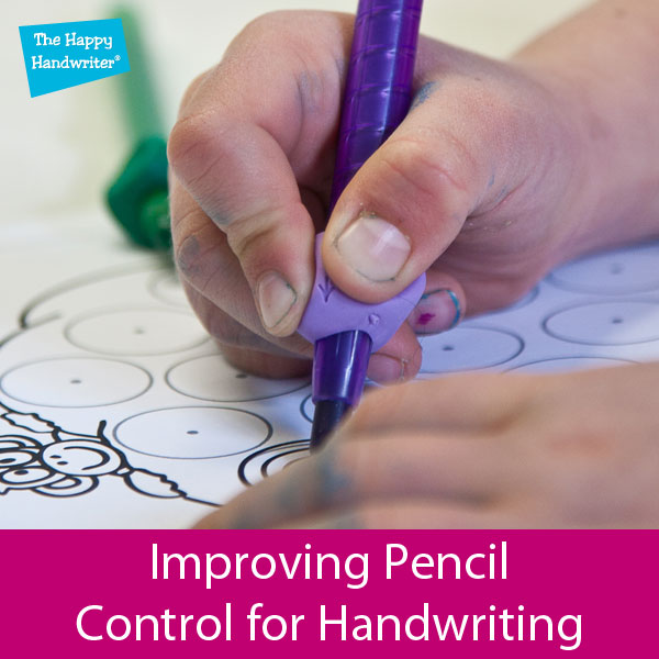 pencil control for handwriting for kids