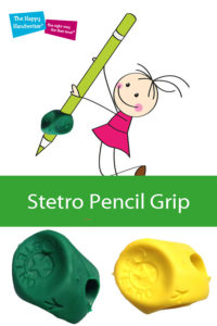 stetro pencil grip, how to use a stetro grip, learn to use the stero pencil grip, pencil grips and pencil grippers