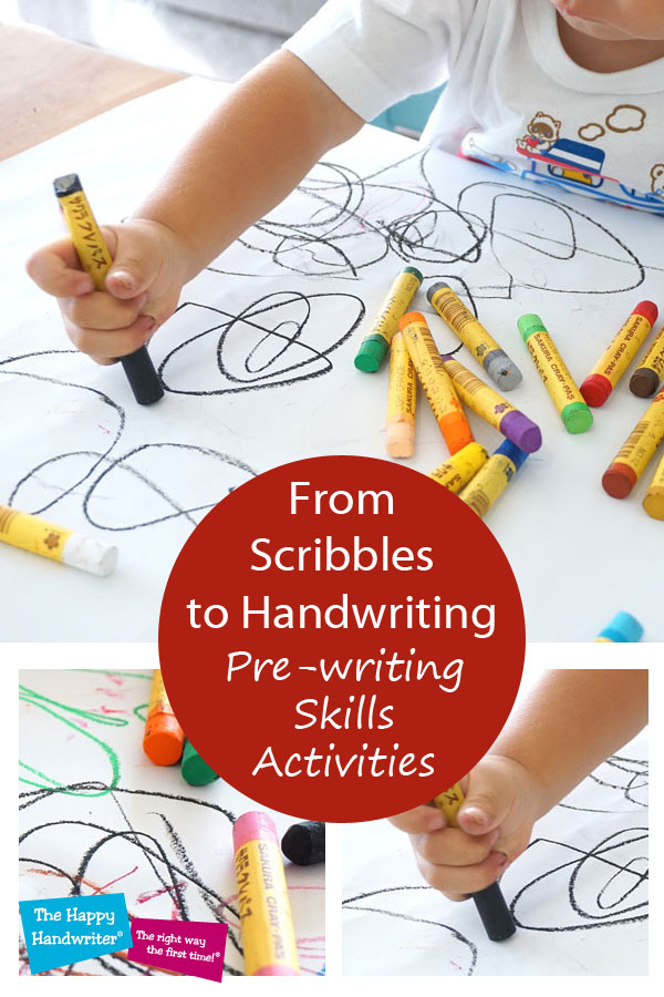 Pre-writing Skills Activities. The Journey from Scribbles ...
