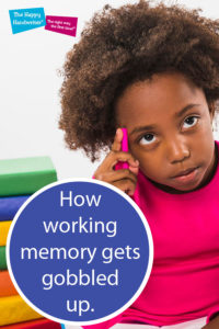 handwriting difficulties, multi-sensory handwriting, rhymes to teach letter formation, teaching letter formation, the importance of letter formation, why children struggle with handwriting, working memory, working memory and handwriting