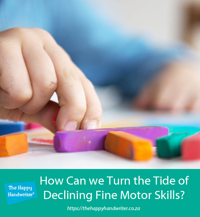 Fine motor skills activities for 4 - 6 year olds