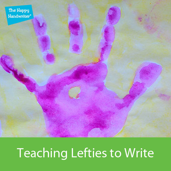 teaching left handed children