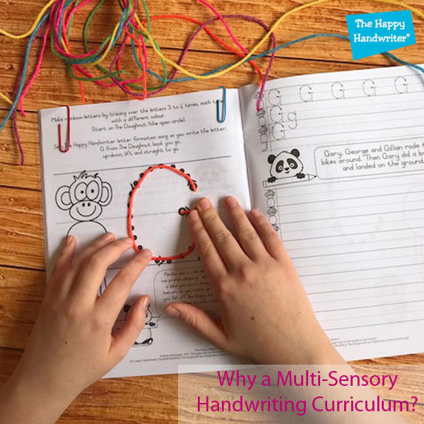 fun letter formation activities, multi-sensory approach to writing
