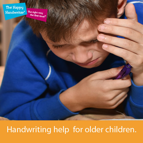 tips to help older kids with handwriting