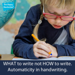 how can kids improve their handwriting, how can I improve my child's writing speed, strategies to improve handwriting, automaticity in handwriting, teaching handwriting in south Africa, teaching writing in the foundation phase, teaching letter formation, the importance of letter formation, working memory and handwriting