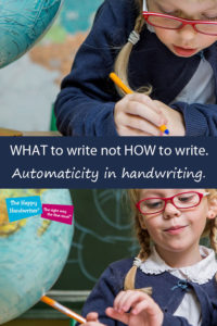 teaching handwriting in south Africa, teaching writing in the foundation phase, teaching letter formation, the importance of letter formation, working memory and handwriting