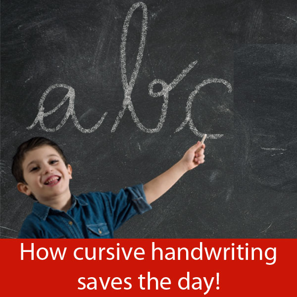 pros and cons of cursive handwriting