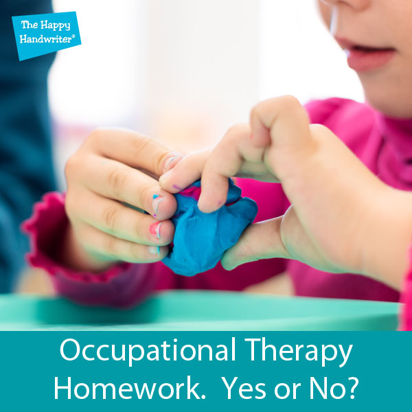 Ocupational therapy handwriting and fine motor exercises
