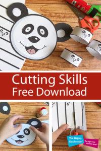 cutting skills development, free cutting download, scissor skills development