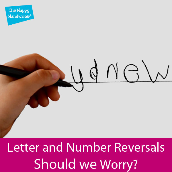 Reversing Letters And Numbers When Writing. When Is It Normal?