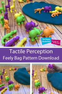 These tactile activities for kindergarten and are discussed in this blog post. Place your objects in a feely bag and develop tactile discrimination activities for pre-writing activities.