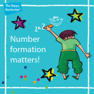 Number formation requires a child to bring together all they have learned about motor skills development together with number recognition and concept, and visual perceptual skills.